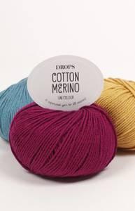 Bilde av Cotton Merino - Drops
