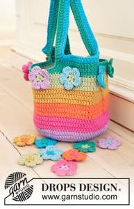 Bilde av Flower Market Bag by DROPS Design